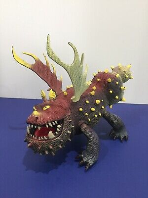 "Rare DREAMWORKS How to Train Your Dragon Arena Spectacular 8"" Gronckle Toy /A1"