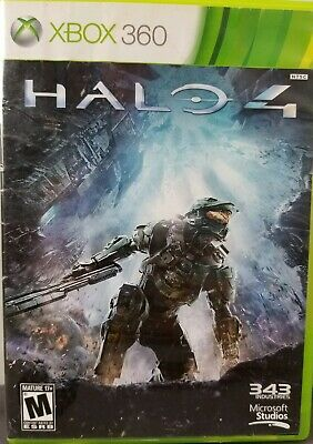 Halo 4 Xbox 360 Game Two Disk