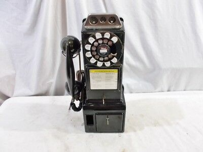Working - Quite Original #182 1940s - Era Western Electric Payphone