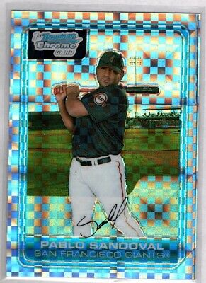 25 2006 Bowman Pablo Sandoval RC  # FG6 Lot of