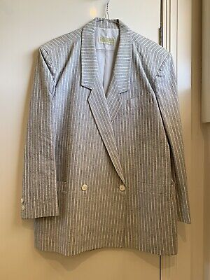 COUNTRY ROAD 1980s Vintage Power Suit Blazer - SIZE 14