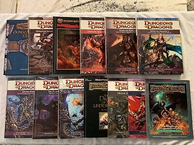 1098 BOOKS OF DUNGEONS & DRAGONS on 5 DVDs (D&D) Modules