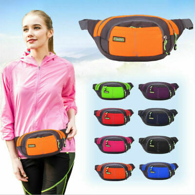 Nylon Waist Belt Pack Bag Chest Pouch For Travel Sport Phone Storages Outdoor //