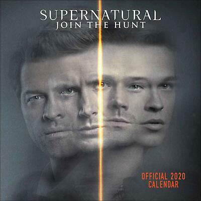 Supernatural Official 2020 Square Wall Calendar by Danilo