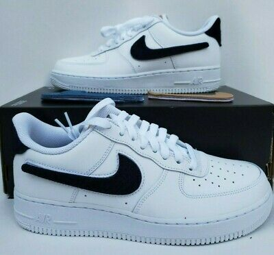 Details about Nike Air Force 1 Low Velcro Swoosh Pack Removable White Tan Size 8 13 CT2253 100