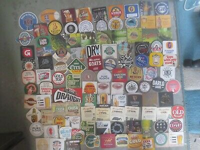 110 different  Australian Breweries  Issued, BEER COASTERS  collectable
