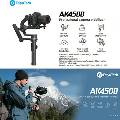 Feiyu AK4500 3-Axis Handheld Gimbal Stabilizer for Canon/Sony DSLR Cameras