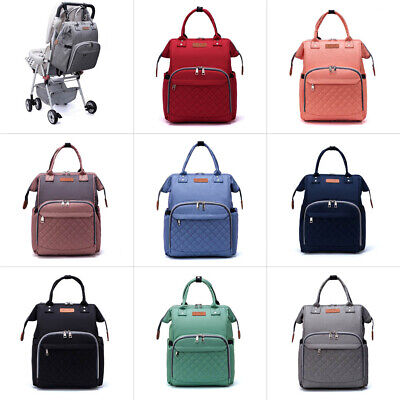 Mummy Maternity Nappy Diaper Bag Large Capacity Baby Bag Travel Backpack-LEQUEEN