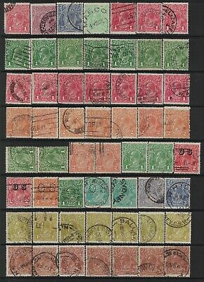 Australia KGV Heads Great Used Selection