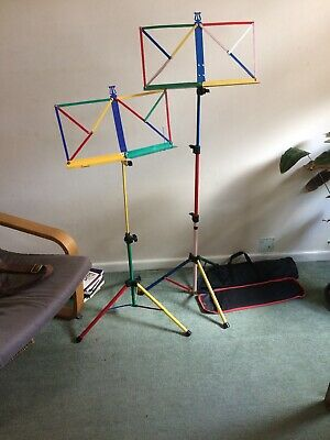 Coloured Music Stand. Reasonable Condition.