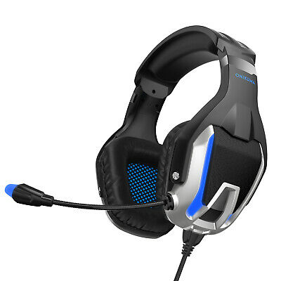 Best 3.5mm Gaming Headset LED Headphones Stereo Surround For PS4 Xbox one X 360E