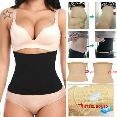 Postpartum Belly Band Wrap, C-section Recovery Belt Binder Slimming Shapewear AU