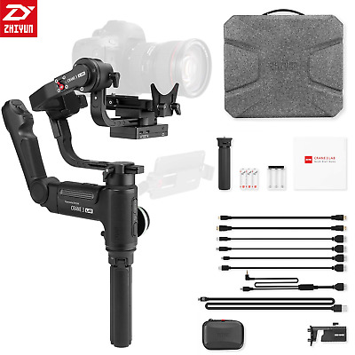 ZHIYUN CRANE 3 LAB 3-Axis Handheld Gimbal Stabilizer for DSLR Cameras with Full