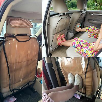 New Clear Hot Cover for Children Kick Mat Mud Clean Car Seat Back Protector
