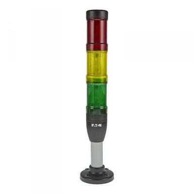 Eaton SL4-100-L-RYG-24L Signal tower continuous light Colour: Red/Yellow/Green