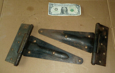 Vintage 2 HD Barn Door Hinge,Stable,Shed,Garage,Industrial,Steampunk,Rusty Decor