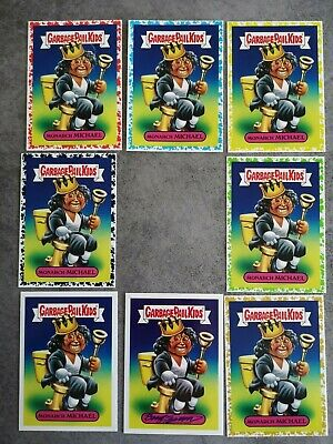 Monarch Michael Garbage pail kids rainbow gold yellow battle of the bands