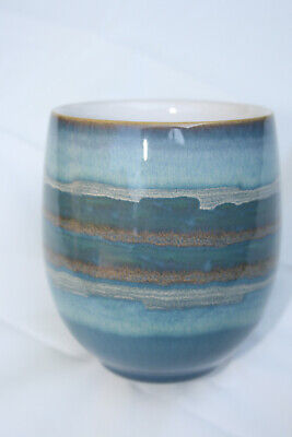 Pair of Denby Azure Coast Large Mugs. New