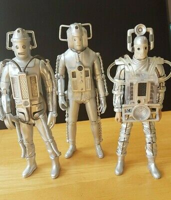 Dr Doctor Who Cyberman Cybermen Age of Steel set LOOSE