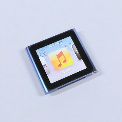 Apple iPod Nano 16GB 6th Gen Generation Blue MP3 WARRANTY EXCELLENT