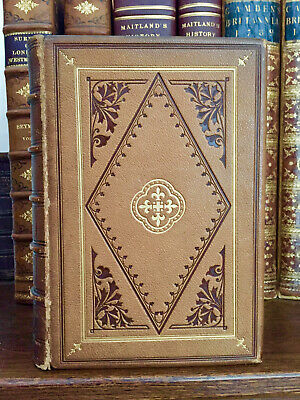 1870 The Arts in The Middle Ages at The Renaissance - Stunning Binding - Plates