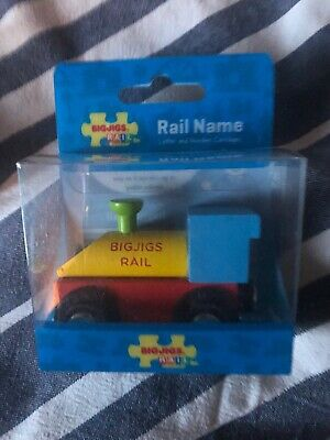 Bigjigs Rail Wooden Personalised Child Name Train Letters Ideal Gift from £2.20!