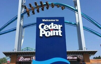 Cedar Point Admission Tickets (5) E tickets