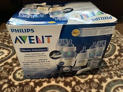 Philips Avent Anti-Colic Bottle Essentials Gift Set 0m+