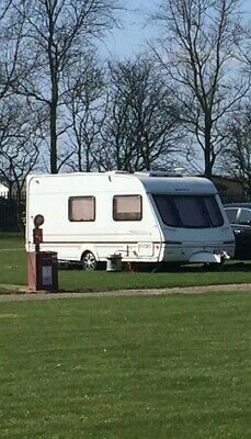 Swift Challenger 530 Tourer caravan with awnings
