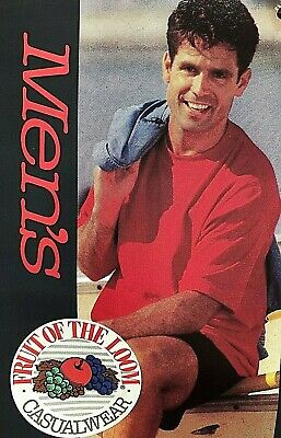 Vintage Fruit of the Loom red %100 cotton T SHIRT XL New with Tag 1993 USA MADE