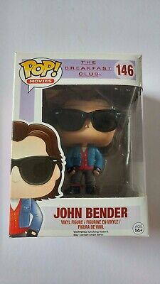 New Funko Pop Movies #146 The Breakfast Club John Bender Vaulted Figure
