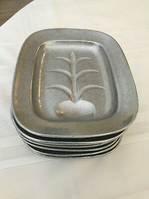 Wilton Armetale, RWP Dish Well & Tree, Small Tray Appetizer Plate(s) Pewter New