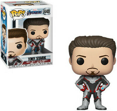 FUNKO POP! MARVEL: Avengers Endgame - Tony Stark [New Toys] Vinyl Figure