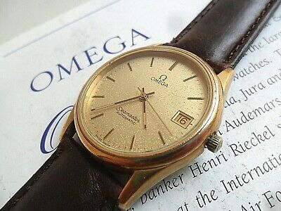 Vintage 1984 Men's S/S Omega Seamaster DeVille Automatic 21 Jewel Watch 4 REP.