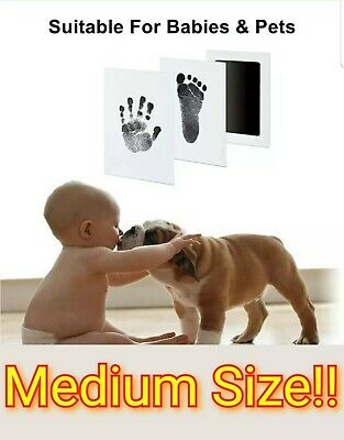 No Mess Baby Care Clean-Touch Ink Pad!! Inkless Hand & Foot Print Kit.