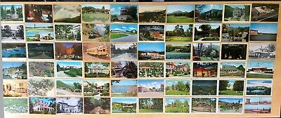 Collection of 156 Antique & Vintage Postcards ALL NORTH CAROLINA Various Towns
