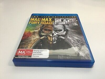 Mad Max Fury Road + Black Chrome Edition - Blu Ray - Free Postage!