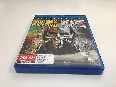 Mad Max Fury Road + Black Chrome Edition - Blu Ray - Free Postage!