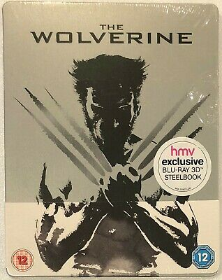 The Wolverine 3D Steelbook - UK HMV Exclusive Limited Edition Blu-Ray