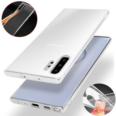 For Samsung Galaxy Note 10+ Plus Case Ultra Thin Clear Shockproof Soft TPU Cover