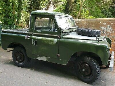 1960 Land Rover Series 2 88""