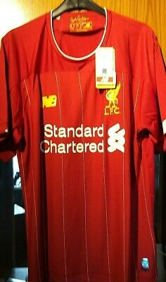 2019/20 Liverpool Fc Home Shirt Brand New With Tags Adult Size Medium