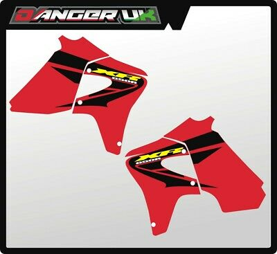 Honda Xr 650 03 2000-2007 Tank Rad Scoops Radiator Shrouds Graphics Decals