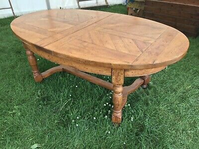 Antique French  style Extending  solid oak  Dining Table