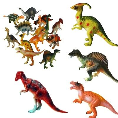 Large Soft Rubber Foam Stuffed Dinosaur Toy Action Figures With Roar Sounds
