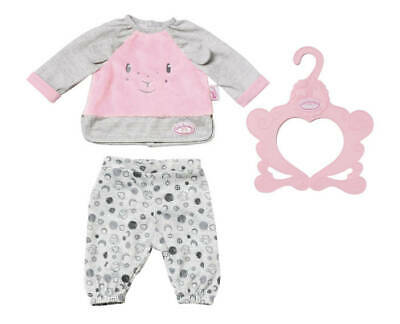 Zapf Creation 702826 Baby Annabell Sweet Dreams Pyjama 43 cm