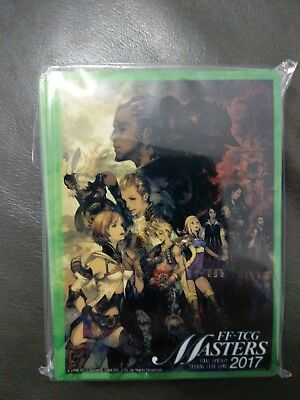 Final Fantasy Sleeves Official 60 Pack Sealed Ff-Tcg Masters 2017