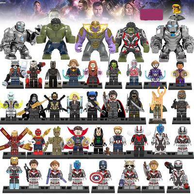 Lego Marvel Avengers Endgame Minifigure Iron Man Thanos Venom Deadpool DC Figure