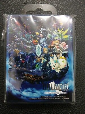 Final Fantasy Sleeves Official 60 Pack Final Fantasy World Pre-Release