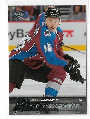 2015-16 Upper Deck #206 Mikko Rantanen Yg Rc Young Guns Ud Colorado Avalanche